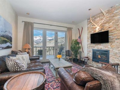 Photo for Perched high above Mountain Village, Cassidy Ridge is a perfect blend rustic warmth and luxury.