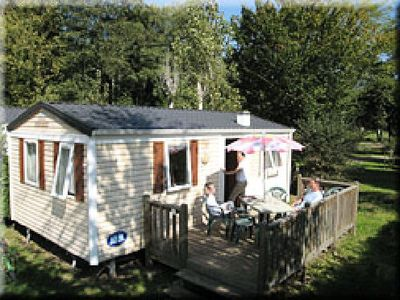 Photo for Camping Les 2 Vallées *** - Mobil Home Saturn 3 Rooms 4/6 People