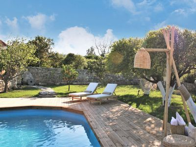 Photo for Absolute privacy in a large space full of nature with a swimming pool.