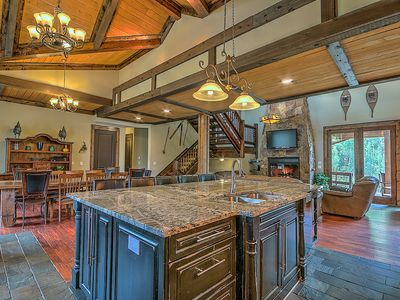Photo for Stand-alone Home w/High End Finishes, Huge Decks, Hot Tub, Sleeps 27
