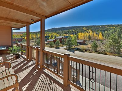Photo for Large Duplex w/ Hot Tub, Heated Garage & Fireplace - 2 Miles to Granby Ranch