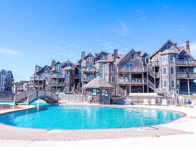 Photo for BIS206 Carey'd Away. Remodeled Oceanfront Condo, Barrier Island Station, Duck