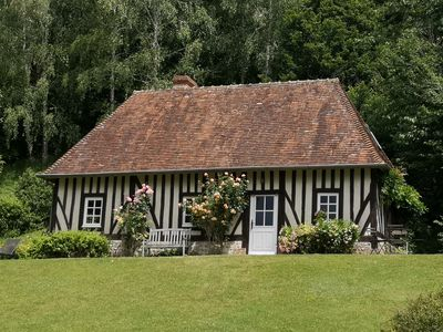 Photo for Saint Julien de Mailloc - The Manor cottage - Lisieux region - Pays d auge -