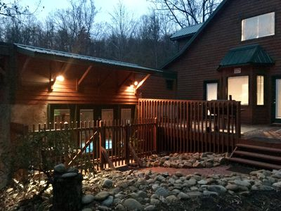 Private outside living to feel the nature that surrounds you