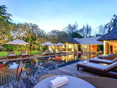 Photo for A tranquil haven offering space, elegance and total privacy in Layan Estate