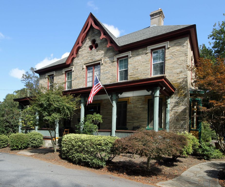 The Historic Blake House - This is the Historic Blake House, built in 1847.