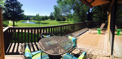 Golf Course views!!! High-End Furnishings, Oversized Patio, Air Conditioning!!!