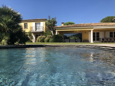 Photo for Lovely villa near St. Tropez, and with easy access to the beaches!