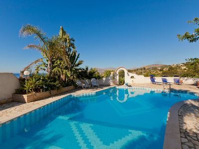 Photo for 7 bedroom Villa, sleeps 14 with Pool, Air Con and WiFi