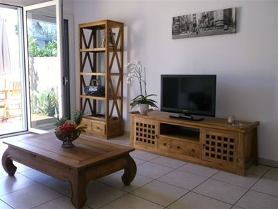 Photo for Charming T2 4 pers. with Garden at 50 m from the lagoon of St-Leu