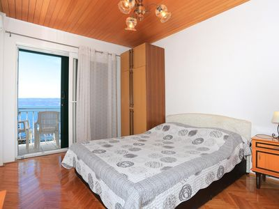 Photo for Studio flat with balcony and sea view Lokva Rogoznica, Omiš (AS-18211-a)