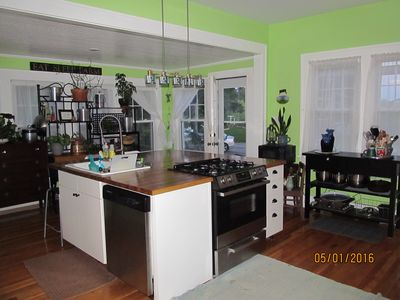 The Kitchen. a great place to gather family and friends.