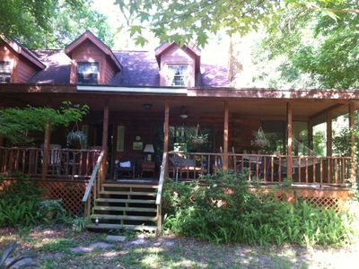 Photo for Withlacoochee River Retreat And Log Cabin Getaway