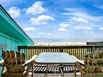Photo for Newly Renovated - Oceanfront & Pool Renovated with Large Deck - Sleeps 7