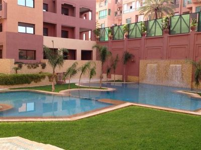 Photo for Marrakech City Holiday Apartment Rental, Gueliz with jacuzzi/hot tub
