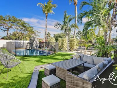 Photo for Stylish 3.5BR/3Bath home w/Private Pool