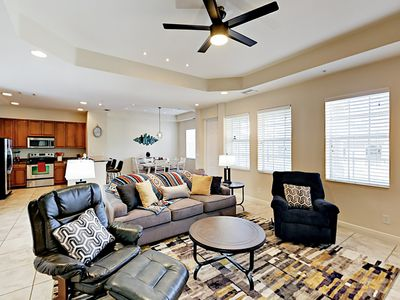 Living Area - Welcome to Fort Myers! Your rental is professionally managed by TurnKey Vacation Rentals.
