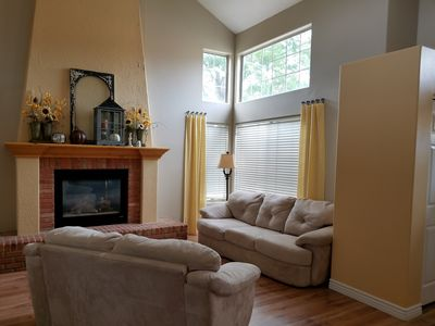 Photo for Bright, clean, comfy home with lots of parking.