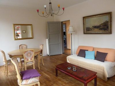 Photo for St Malo F3 62m Alet peninsula Solidor, 50m sea, wifi, garden, secured parking