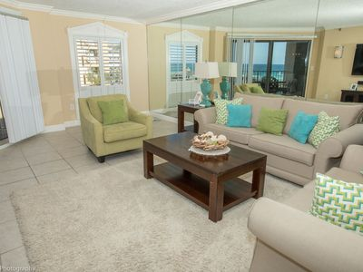 """Photo for IR 314 is a Stunning 2 BR Gulfview - Recently Renovated and 60"""" Flat Screen"""