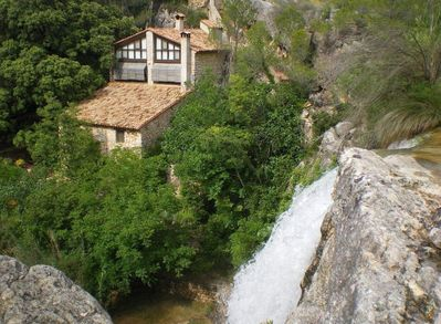 The wonderful La Molina Soterres is an ancient water mill with a unique pool