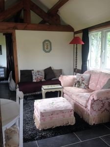 Living area includes single bed/day bed