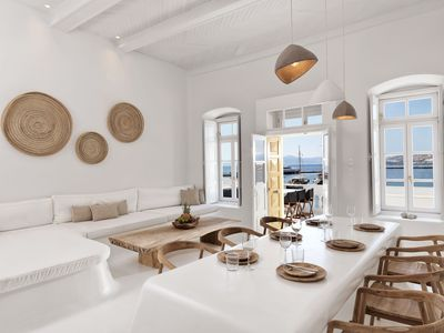 Photo for Villa Kampani | Sea View Villa in Mykonos Town