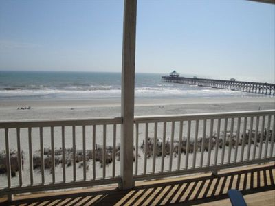 Photo for Dolphin Watch - Charming - Cozy - Oceanfront - Beachfront!