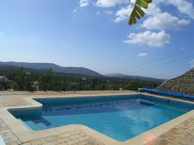 Photo for Luxurious 3 Bed All Ensuite Villa,Private Heated Pool,Spectacular Valley Views