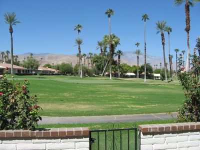Photo for Beautiful Desert Home In Rancho Las Palmas Golf Resort. Pools, Mountains, Shops