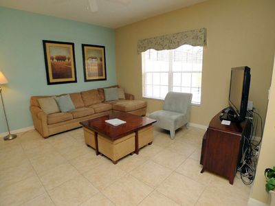 Photo for Family-Friendly Home near Disney & Golf w/ WiFi, Pool, Resort Gym & Game Room