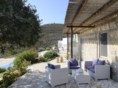 Photo for Dream of Amalthea welcomes you in Patmos island - Two Bedroom Villa, Sleeps 4