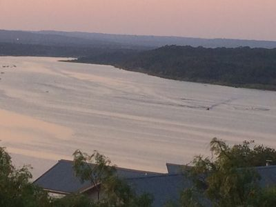 Photo for Hill Country Retreat With Panoramic Views At Lake Travis.