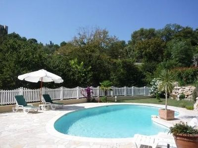 Photo for Apartment in a beautiful, new villa with pool