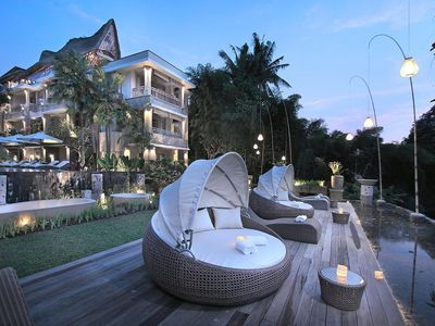 Photo for The Udayana Ubud Resort with 1suite room & 2 guest +brkfs+Cultural Place