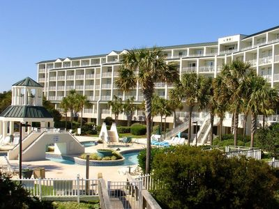 Photo for Bridgewater 101 - Oceanfront, End Unit w/ Pool, Lazy River