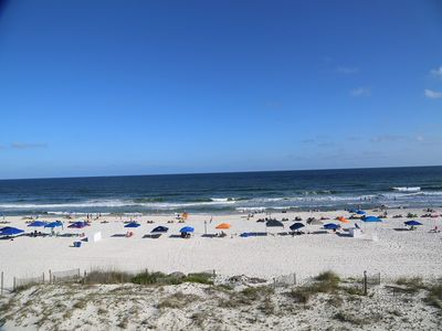 Photo for HOT DEAL Island Shores 450 / Gulf Front / Prime Location / FREE Wifi - Washer/Dryer in unit