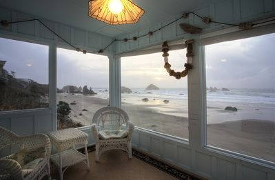 Spectacular view from the Coast Watch Room of the Main House