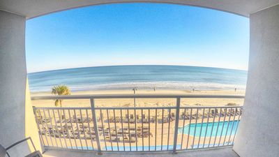 Photo for Direct Oceanfront.Low Floor.Modern Building.New Appliances. Modern/Honeymoon