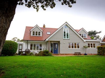 Photo for Luxury Holiday Home In Lymington With Views Over The Solent And National Park