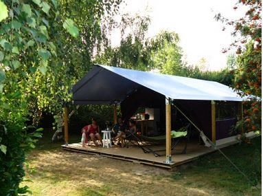 Photo for Camping Lou Comtadou *** - Comfort tented lodge 3 rooms 5 persons