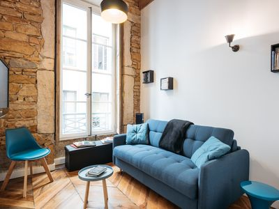 Photo for CHARMING APARTMENT 2BEDROOMS - HEART OF LYON