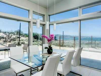 Photo for Coastal Living - Monterey Beach House - Oceanfront Luxury