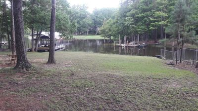 Photo for Toledo Bend Water Front!  Nestled on a quiet cove with boat&swimming dock