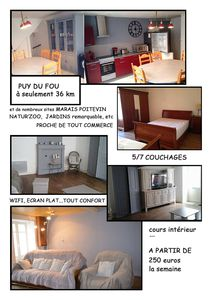 Photo for TOWNHOUSE NEAR Puy du Fou Vendée AND BEACHES