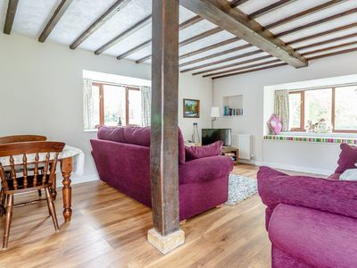 Photo for Spacious thatched barn-conversion cottage, with amazing on-site facilities