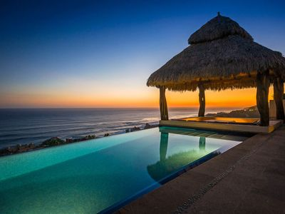 Photo for Stunning 5 BR Ocean View Villa Helena w/ Heated Pool, Gas BBQ & Satellite TV