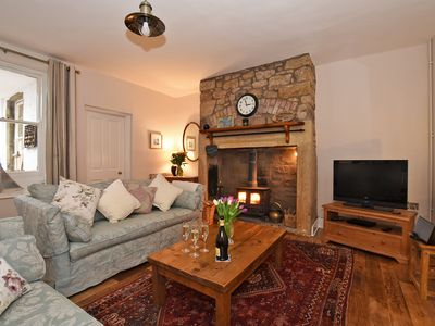 Photo for Charming Cottage in Alnmouth Village Close to Sandy Beach, WiFi, Open Fire