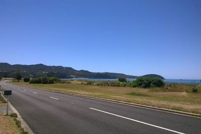 Just across road from Tokerau Beach