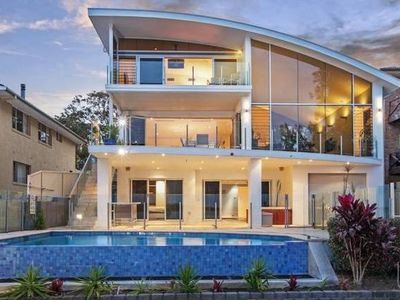 Photo for Luxury Waterfront Home with infinity pool 5 mins from amenities family friendly